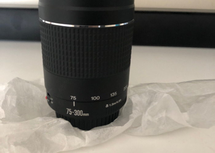 CANON- 75-300mm Zoom Lens  - 1