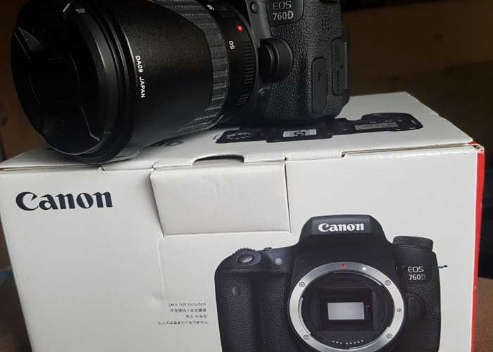 Canon 760D with EF 50mm STM - 1