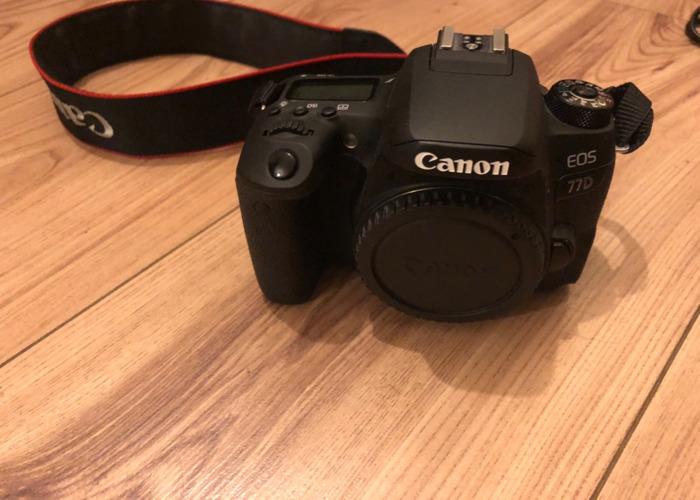 Rent Canon 77d dclr camera in Elsternwick