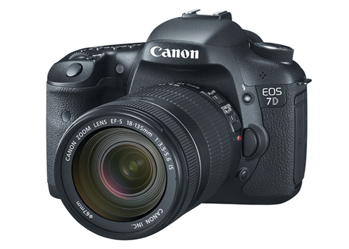 Canon 7D DSLR 18-135mm and 50mm 1.8 - 1