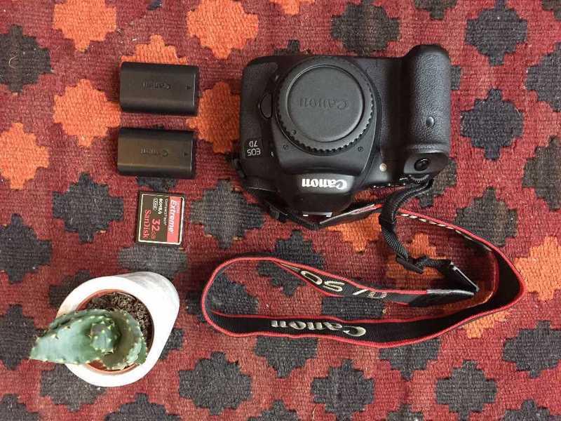 Canon 7D DSLR Camera  - 1