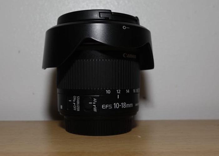Canon 7D M2 + Canon 10-18mm bundle - 2