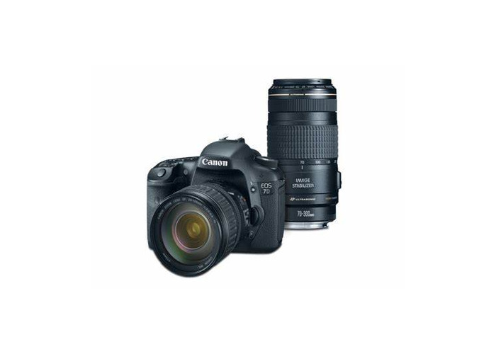 Canon 7D with stock lens - 1