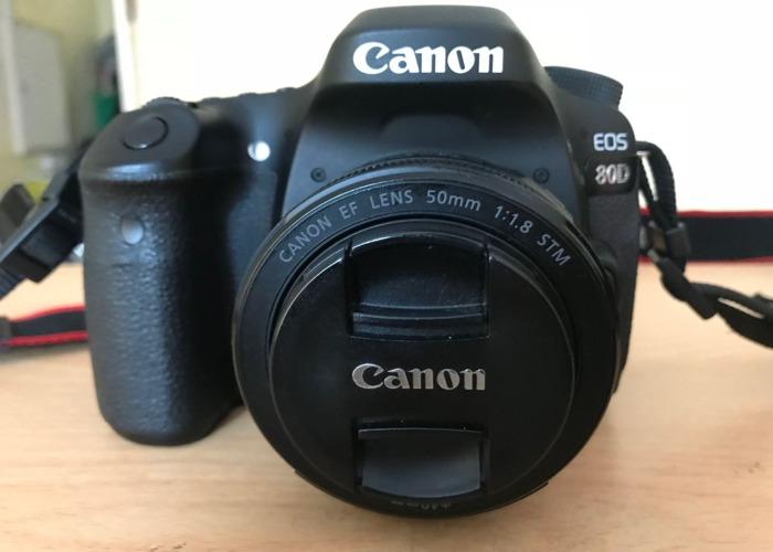 Canon 80D + 50mm lens - 1