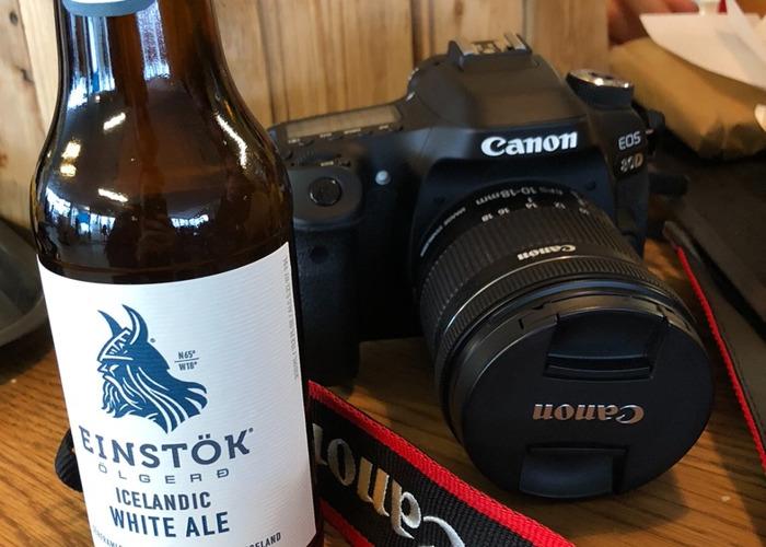 Canon 80D 10-18mm lense (gorilla pod and rode mic) - 1