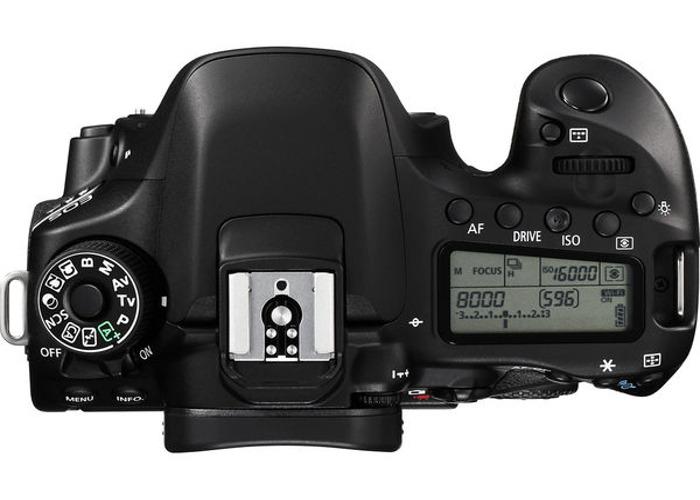 Canon 80D +Lens - 2