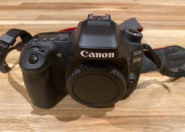 Canon 80D Body - 1