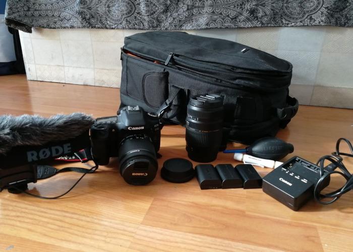 Canon 80D plus accessories - 1