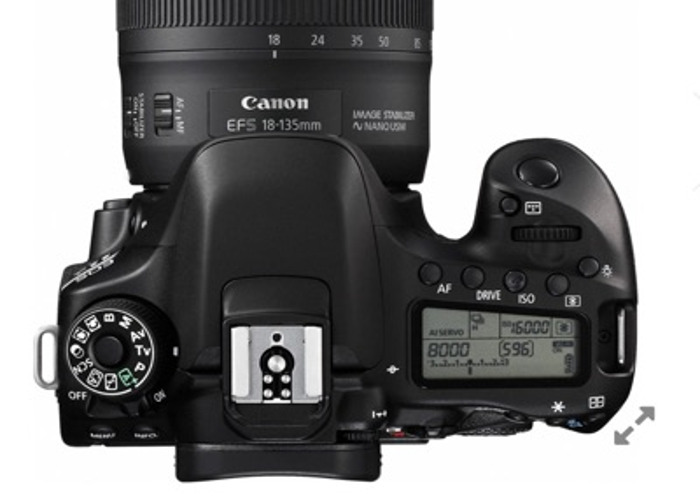 Canon 80D with 18-35mm Lens - 1
