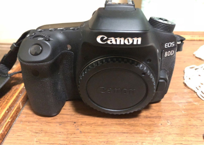 Canon 80d with lens - 2