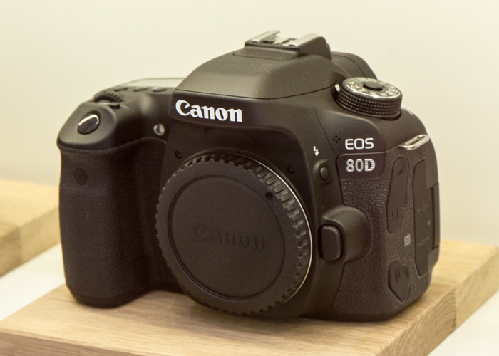 Canon 80d with lens - 1