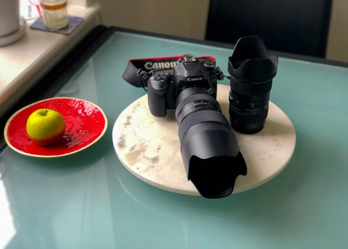 Canon 80D (with two buttery lenses) - 1