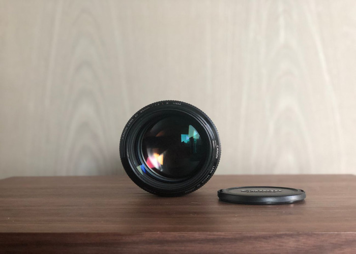 Canon 85mm 1.2L ii - 1