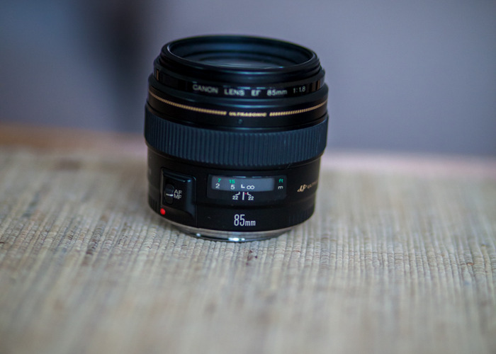 Canon 85mm 1.8 - 1