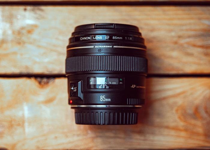 Canon 85mm 1.8 - 2
