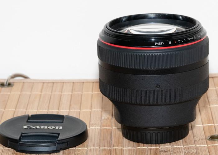 Canon 85mm F/1.2 USM II  - 2