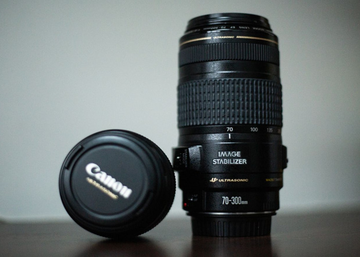 Canon 85mm f1.8 and Canon 70 - 300mm f4 - 5.6 package - 2