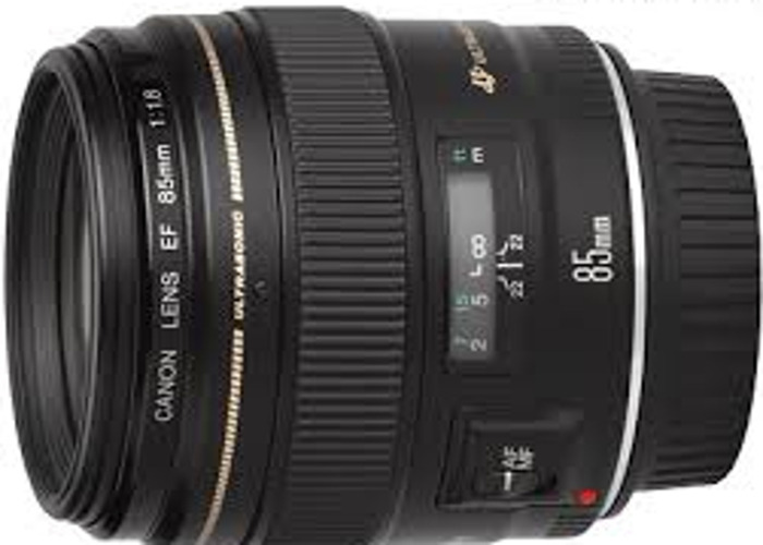 Canon 85mm f1.8 lens - 1
