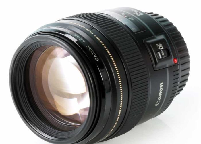 CANON 85mm f1.8 USM Lens - 1