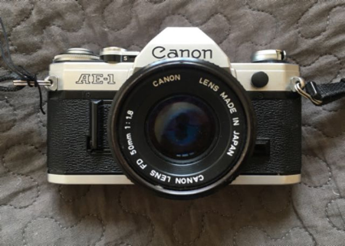 Canon AE-1 35mm Film Camera - 1