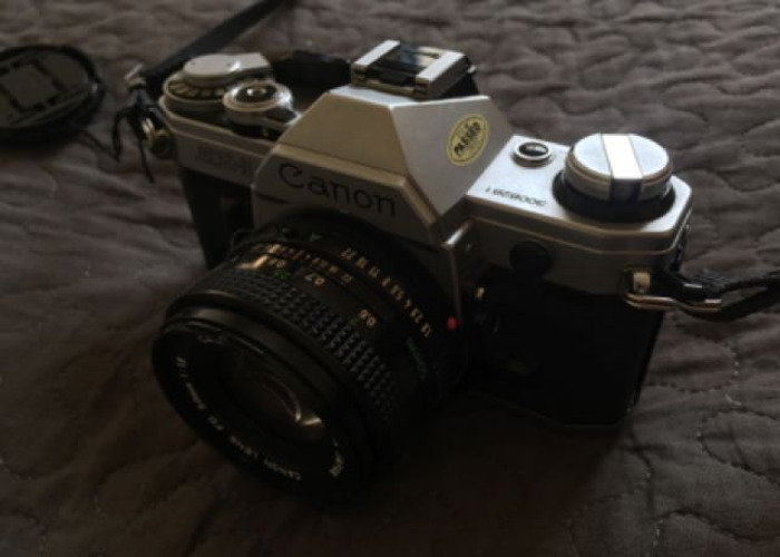 Canon AE-1 35mm Film Camera - 2