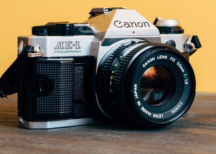 Canon AE-1P with lenses - 1
