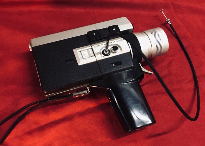 Canon Auto Zoom 518 Super8 Camera - 2