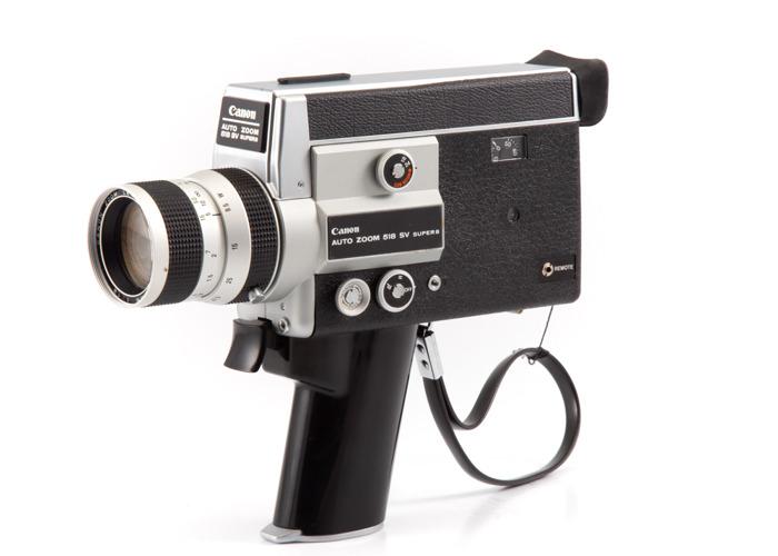 Canon Auto Zoom 518SV Super 8 Camera - 1