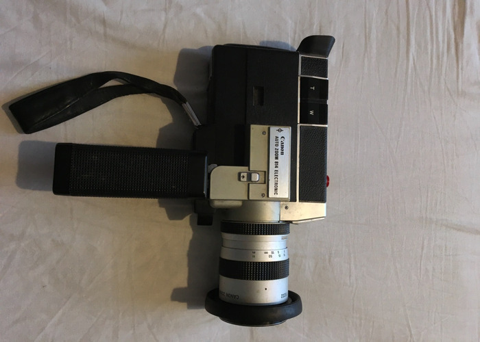 Canon Auto Zoom 814 Eletronic Super 8 Camera - 2