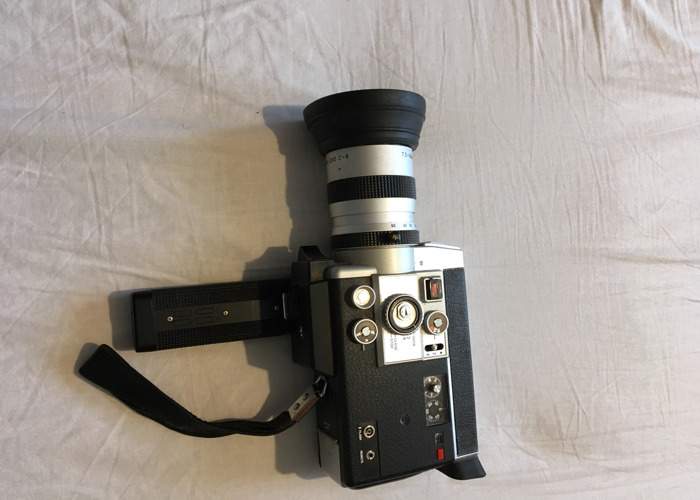 Canon Auto Zoom 814 Eletronic Super 8 Camera - 1
