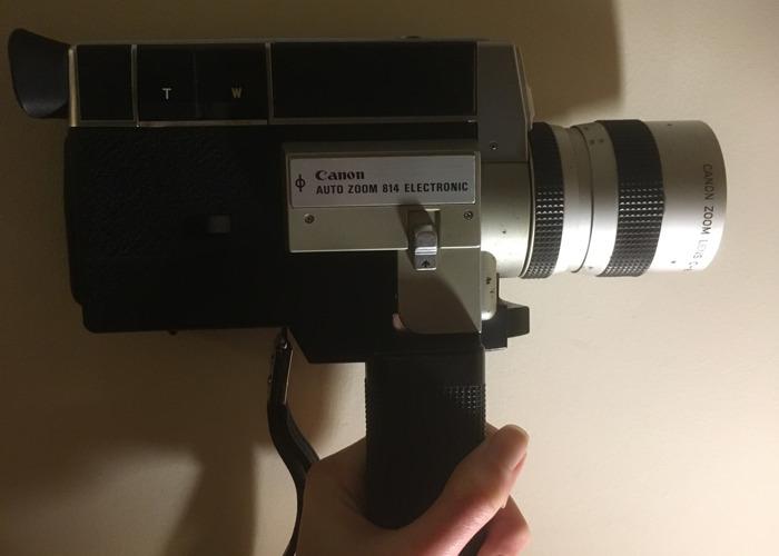 Canon Auto Zoom 814 Super 8 Camera - 2