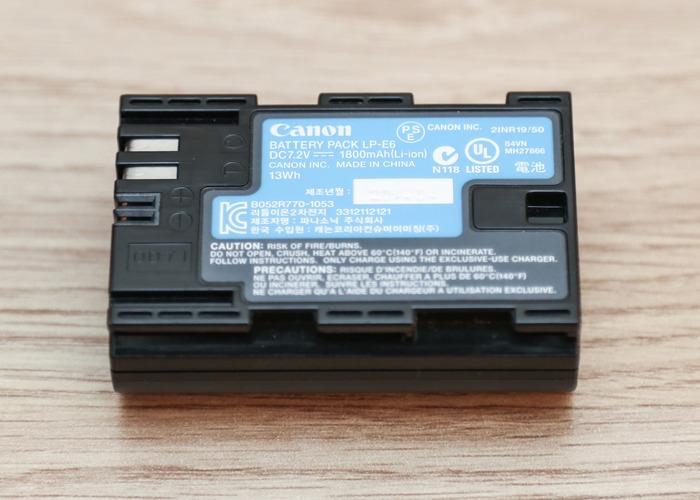 CANON Battery LP-E6 - 2