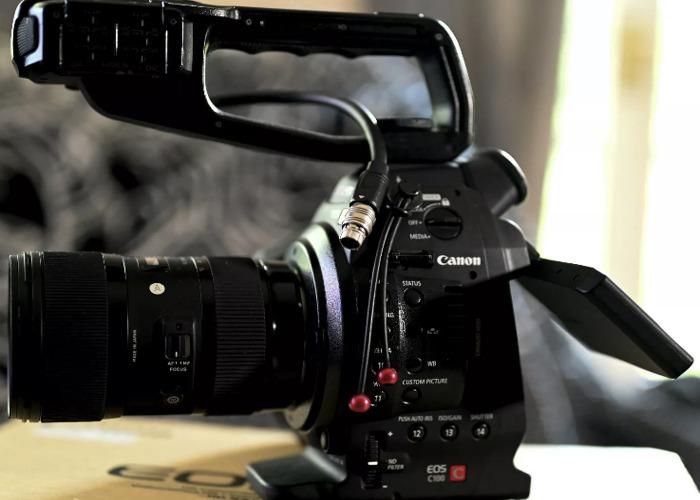 Canon C100 Full Kit inc. Mic, Lenses, Tripod. - 1