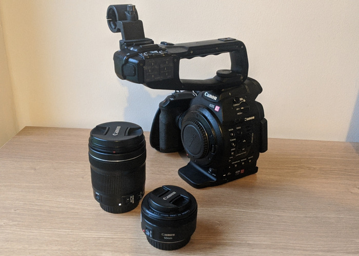 Canon C100 HD Video Camera with 2 lenses (50 & 18-135) - 1