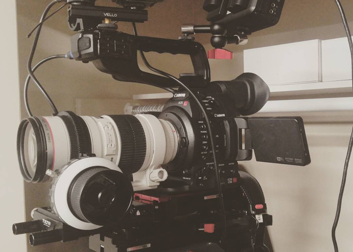 Canon C100 Mark II and Ninja Blade - 2