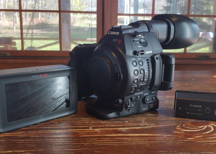 Canon C100 Mark II and Ninja Blade - 1