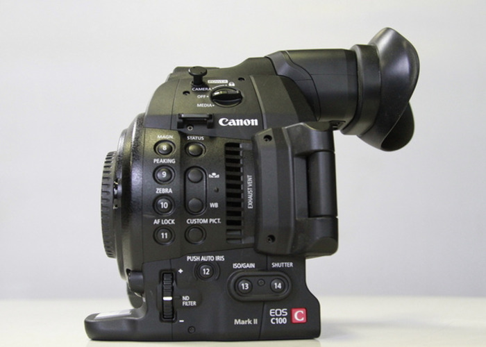 Canon C-100 Mark II Body only - 1