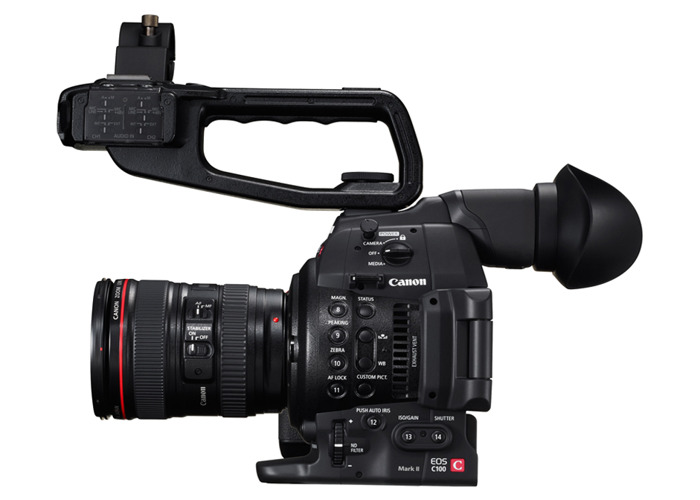 Canon c100 Mark ii Camera and Lens - 1