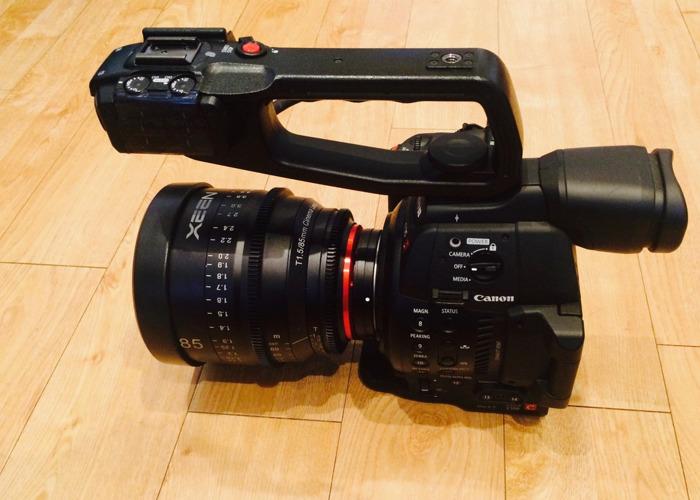 Canon C100 Mark II w/ Samyang Xeen Cine Primes & Accessories