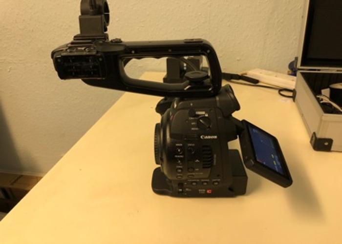Canon C100 mk 1 - 2