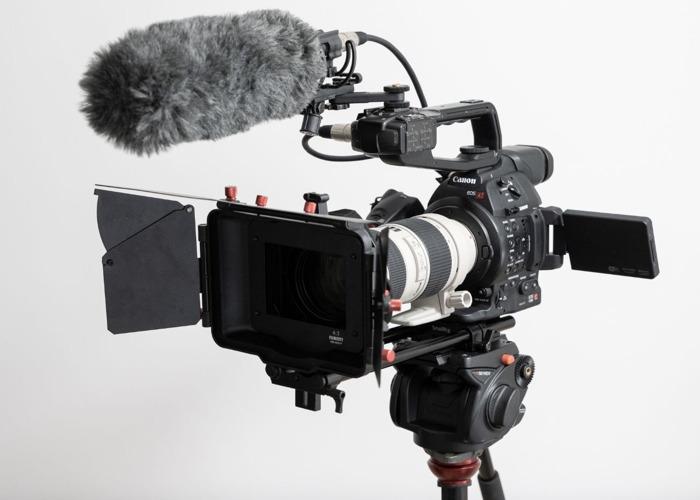 Canon C100 MK II Cinema Camera + Canon 70-200 + Matte Box, Follow Focus, Shoulder Rig - 2