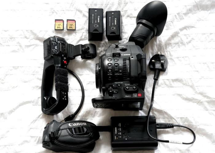 Canon C100 MK2 - 1