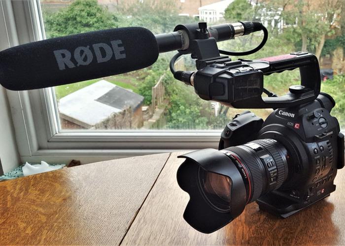 Canon C100 Mki Full Kit - 1