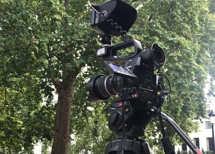 Rent Canon C100 Mkii + Tripod + Atomos Ninja Blade (mk2) in