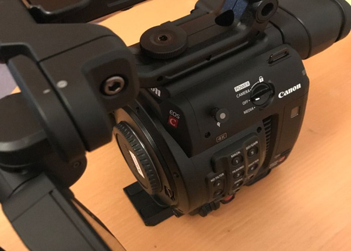 Canon C200 and Operator - 2