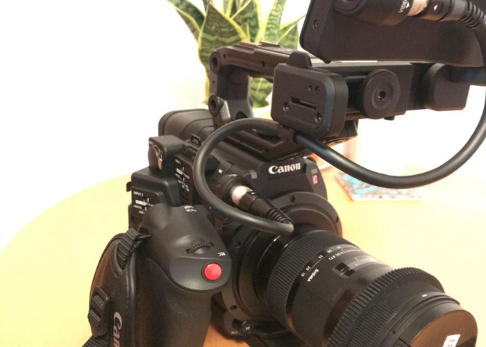 Canon C200 and Operator - 1
