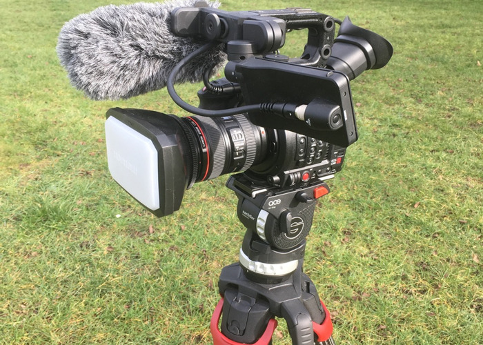 Rent Canon C200 shooting kit with Satchler Flowtech 75 tripod in Chesham