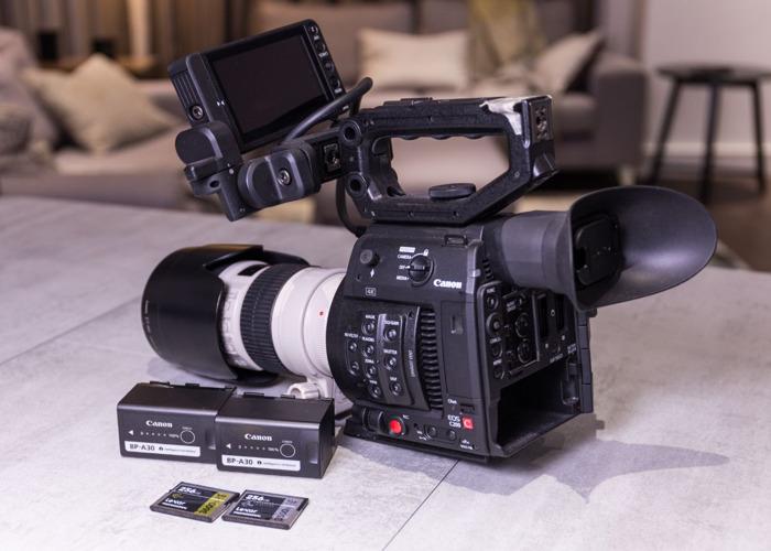Canon C200, 2 x 256GB Cfast, 70-200mm L lens - 1
