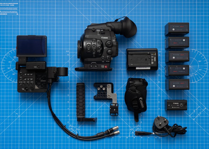 Canon C300 Package A inc Body + 6 Batteries + 256GB Memory - 1