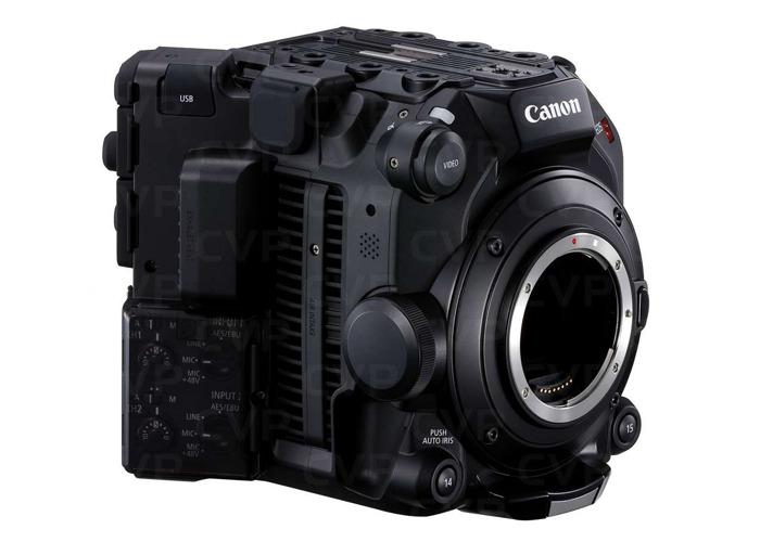 Canon C500 Mark II 5.9K EF - 2